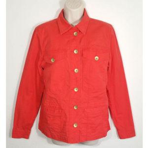 CAbi # 727 Taylor Button Up Jacket Stretch 1818E1